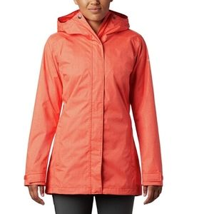 Columbia breathable shell jacket